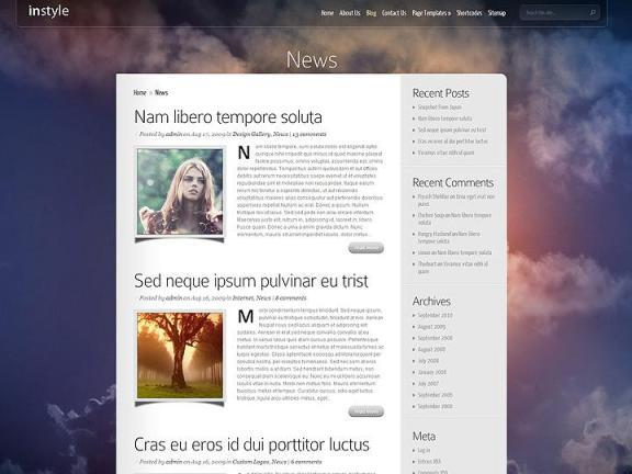 instyle wordpress3