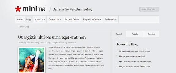 minimal wordpress2