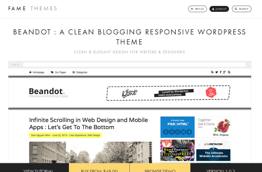 wordpress, wordpress theme, blog, responsive theme, blog theme, clean blogging