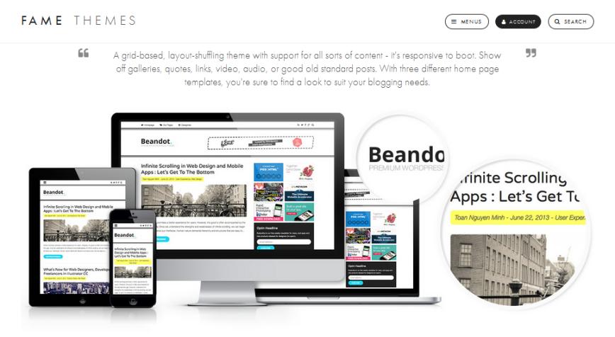 wordpress, wordpress theme, blog, responsive theme, blog theme, clean blogging
